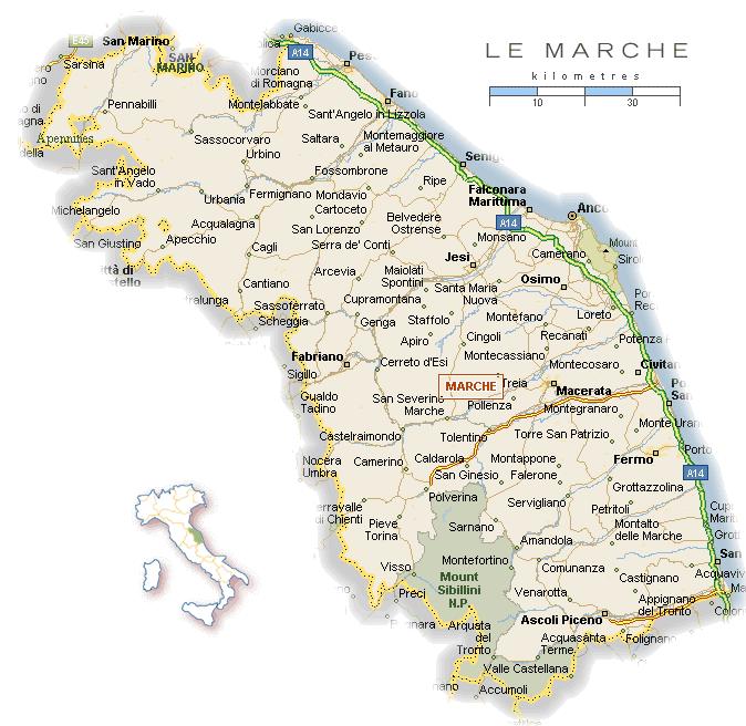kaart-le-marche